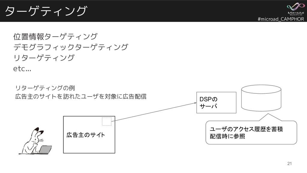 #microad_CAMPHOR ターゲティング 位置情報ターゲティング デモグラフィックター...