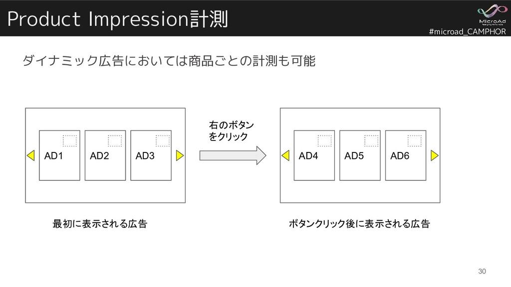 #microad_CAMPHOR Product Impression計測 ダイナミック広告に...
