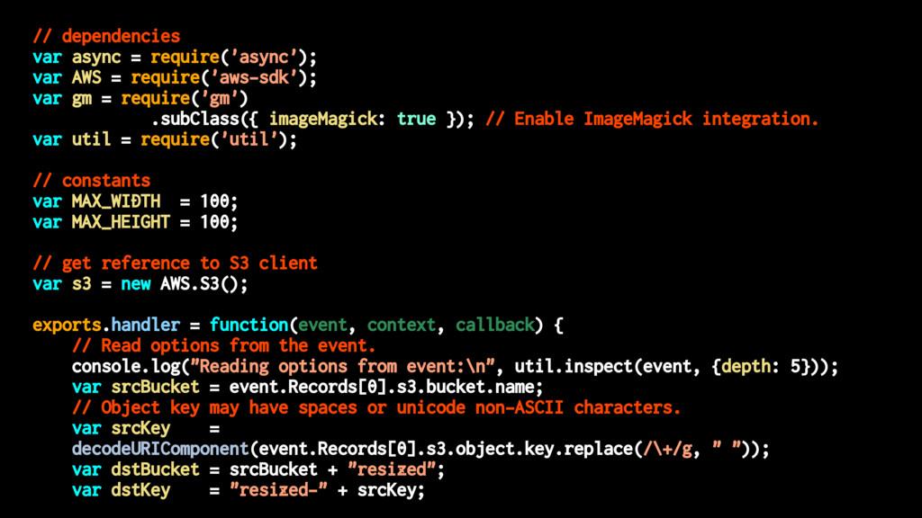 // dependencies var async = require('async'); v...
