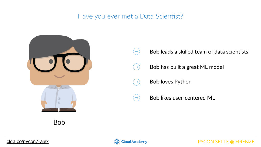 Have you ever met a Data Scien@st? PYCON ...