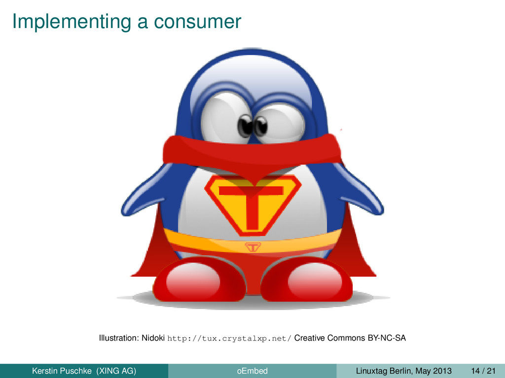 Implementing a consumer Illustration: Nidoki ht...