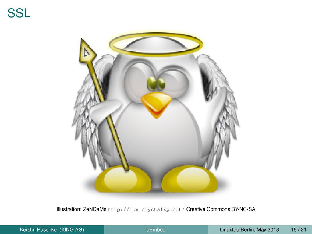 SSL Illustration: ZeNDaMs http://tux.crystalxp....