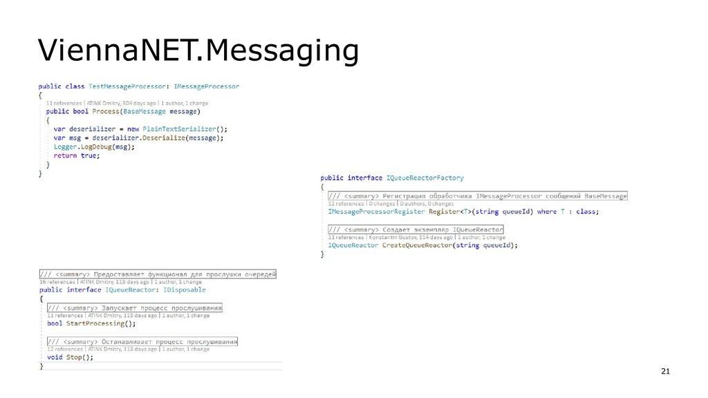 ViennaNET.Messaging 21