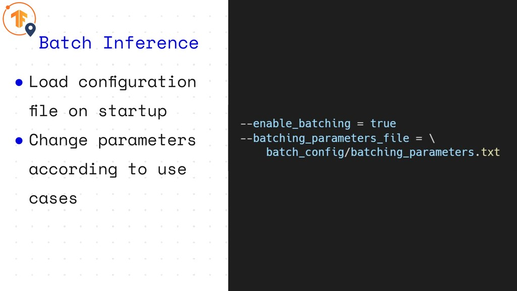 ● Load configuration file on startup ● Change par...