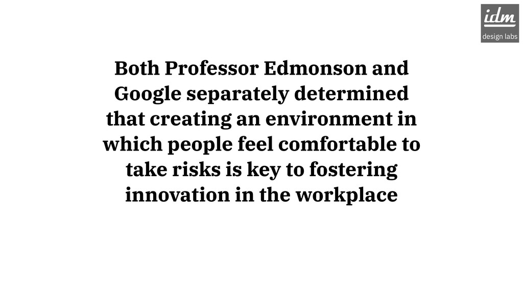 Both Professor Edmonson and Google separately d...
