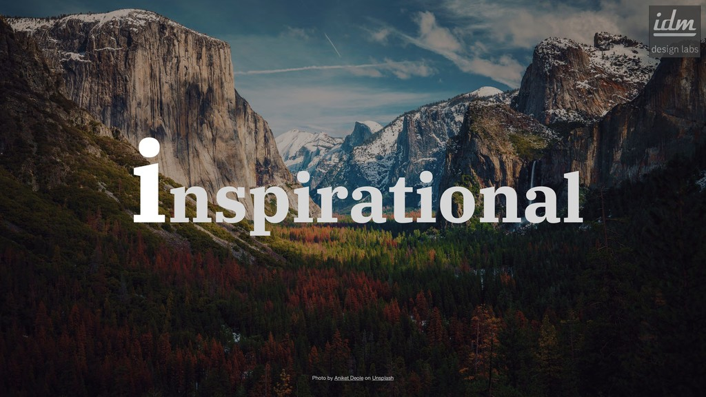 inspirational Photo by Aniket Deole on Unsplash...