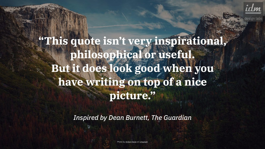 "Inspired by Dean Burnett, The Guardian ""This qu..."