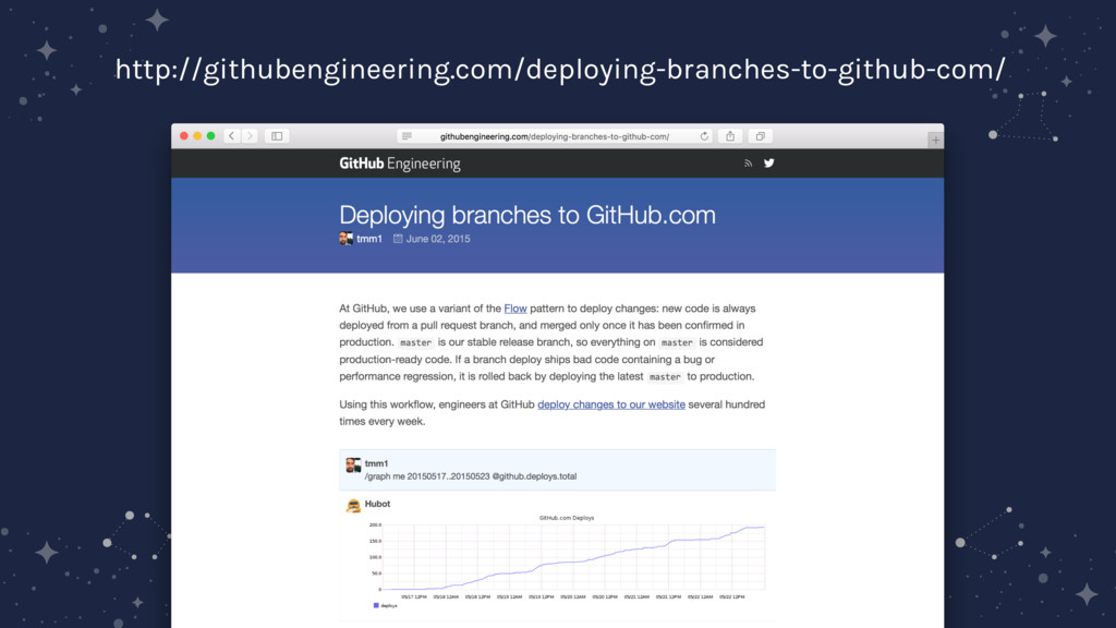 http://githubengineering.com/deploying-branches...