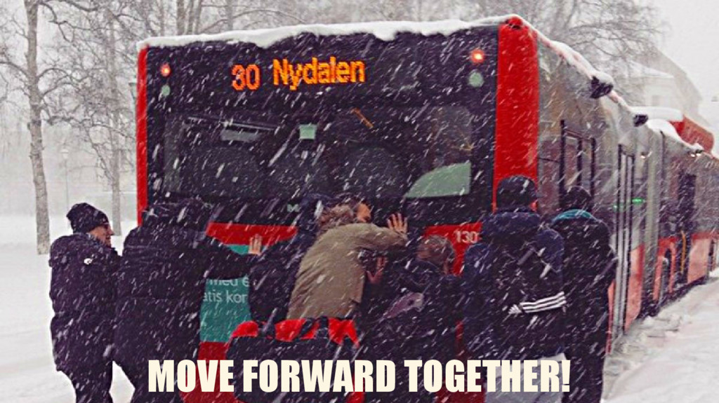MOVE FORWARD TOGETHER!