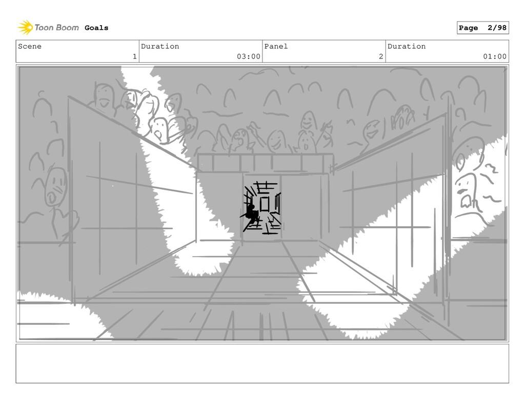 Scene 1 Duration 03:00 Panel 2 Duration 01:00 G...