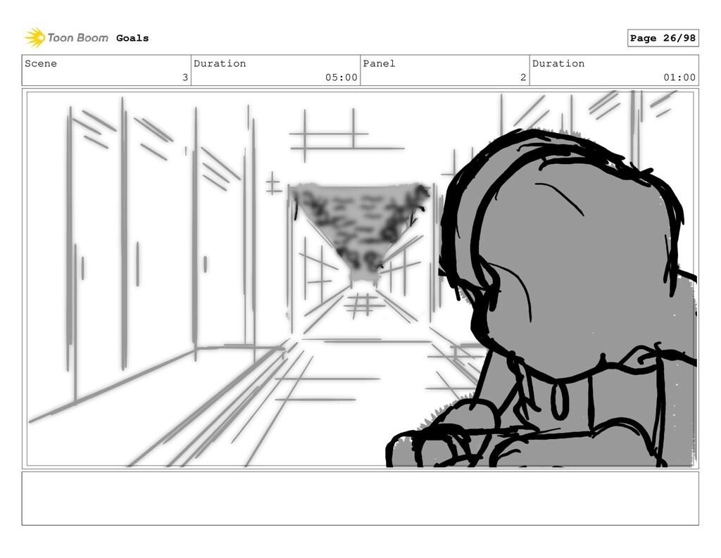 Scene 3 Duration 05:00 Panel 2 Duration 01:00 G...