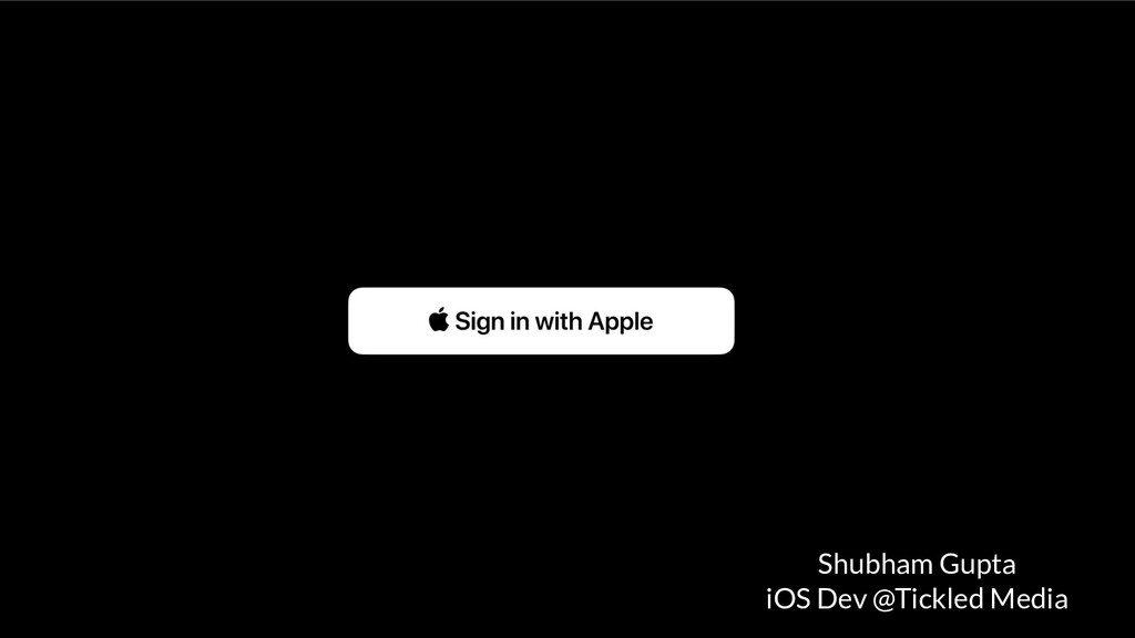 Shubham Gupta iOS Dev @Tickled Media