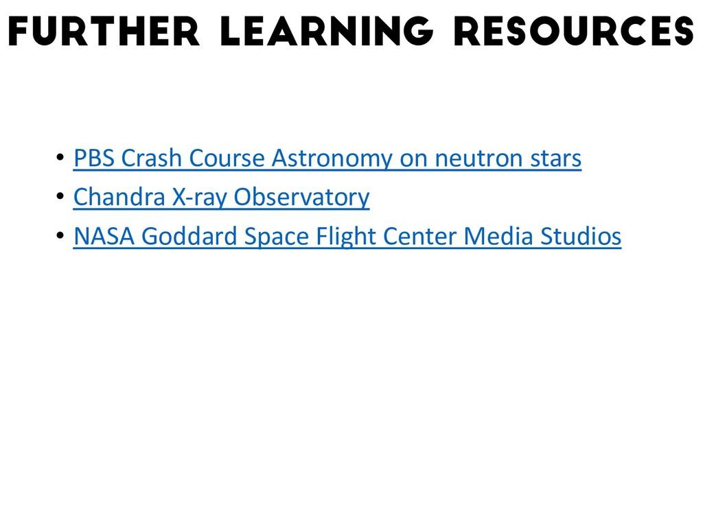 • PBS Crash Course Astronomy on neutron stars •...