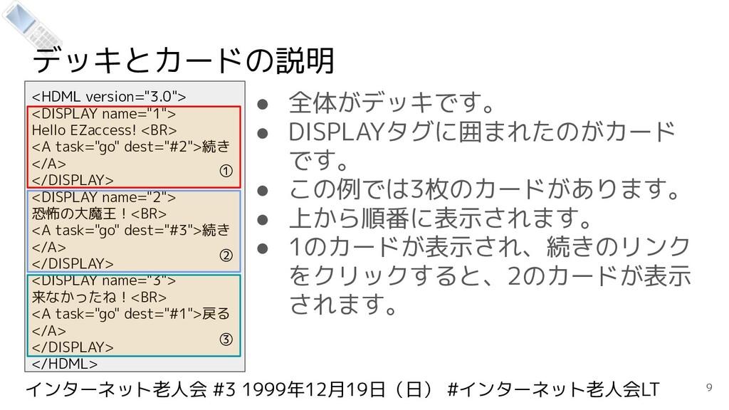 インターネット老人会 #3 1999年12月19日(日) #インターネット老人会LT デッキと...