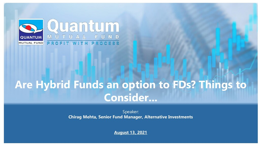 Are Hybrid Funds an option to FDs? Things to Co...