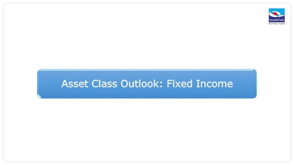 Asset Class Outlook: Fixed Income
