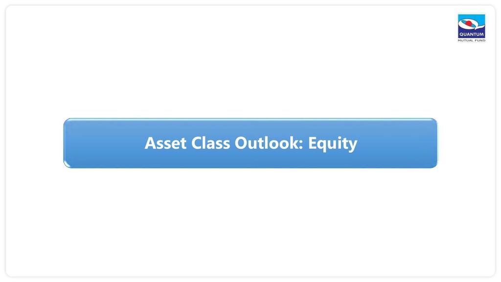 Asset Class Outlook: Equity