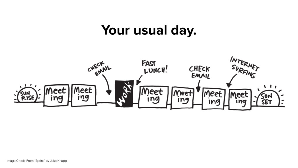 """Your usual day. Image Credit: From """"Sprint"""" by ..."""