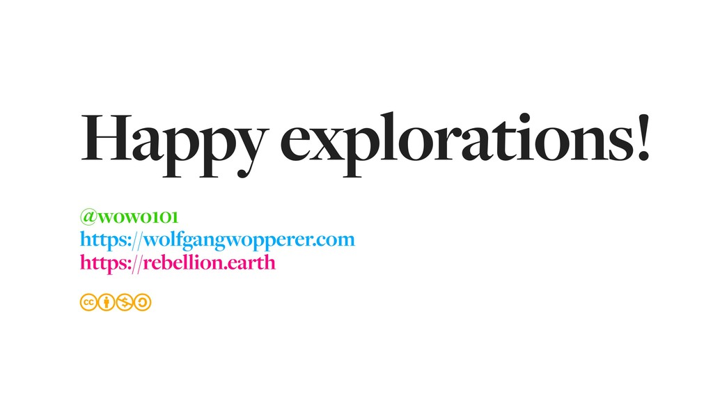 Happy explorations! @wowo101 https://wolfgangwo...