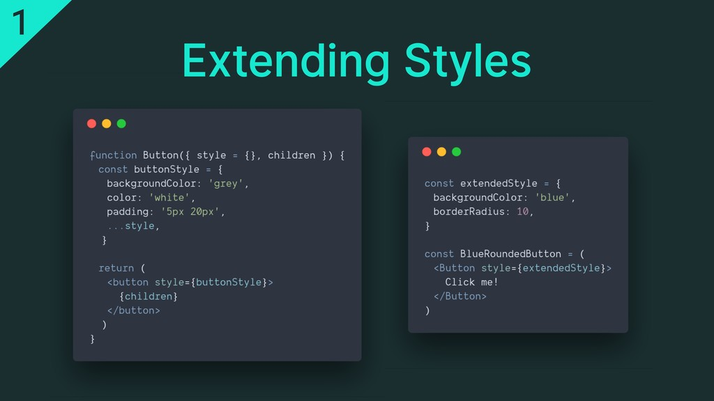 Extending Styles 1