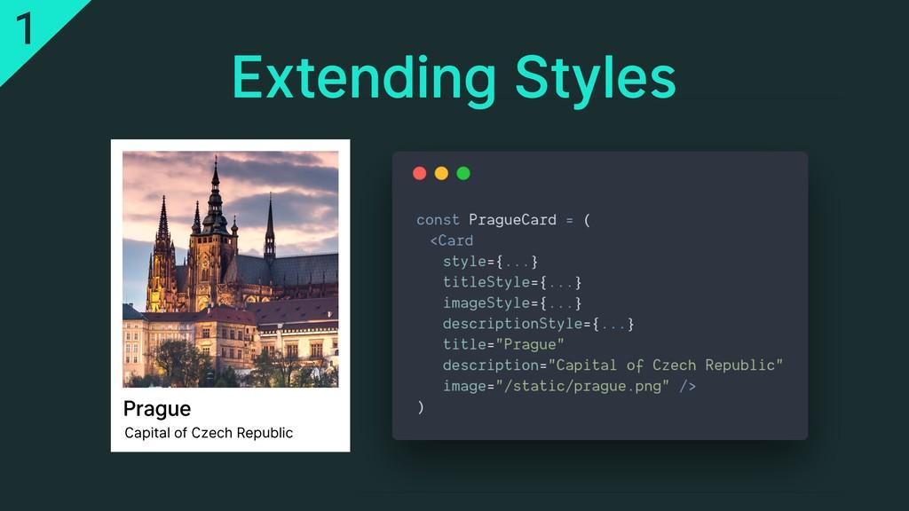 Extending Styles Prague Capital of Czech Republ...