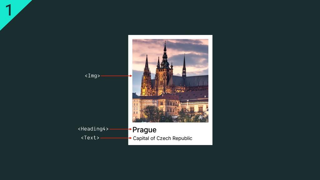 Prague Capital of Czech Republic <Img> <Headin...