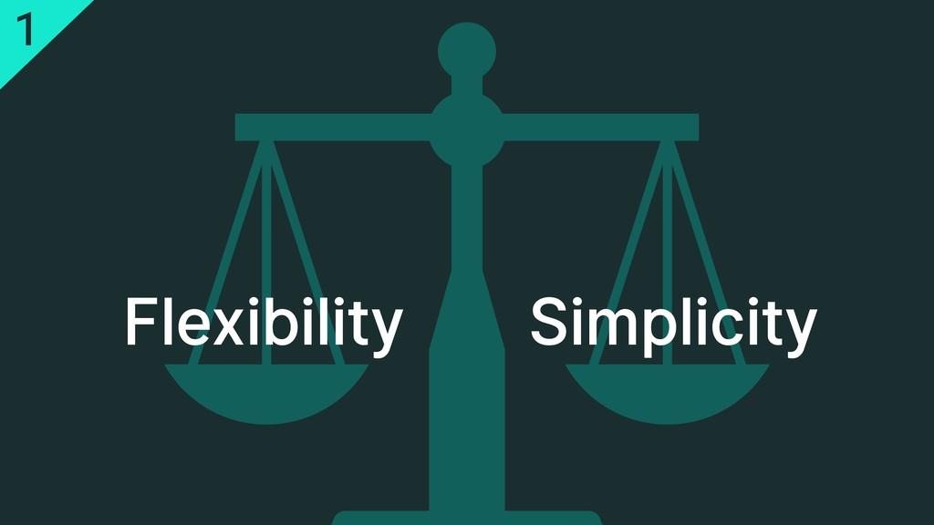 Flexibility Simplicity 1