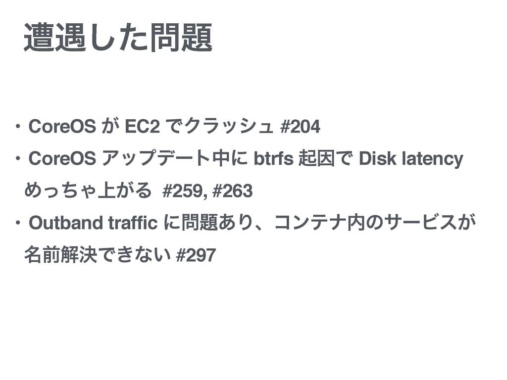 ૺ۰ͨ͠ • CoreOS ͕ EC2 ͰΫϥογϡ #204 • CoreOS Ξοϓσ...