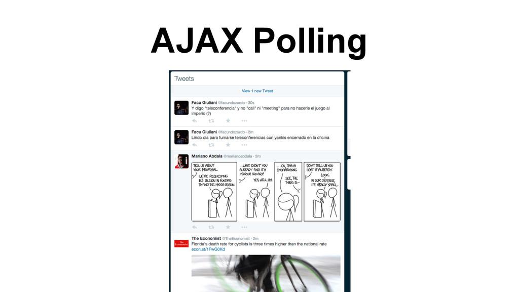 AJAX Polling