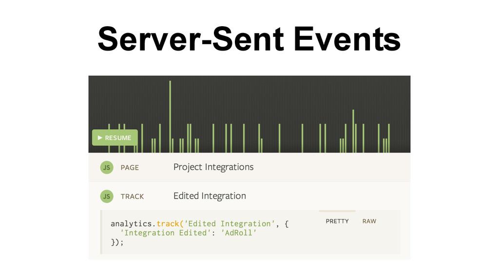 Server-Sent Events