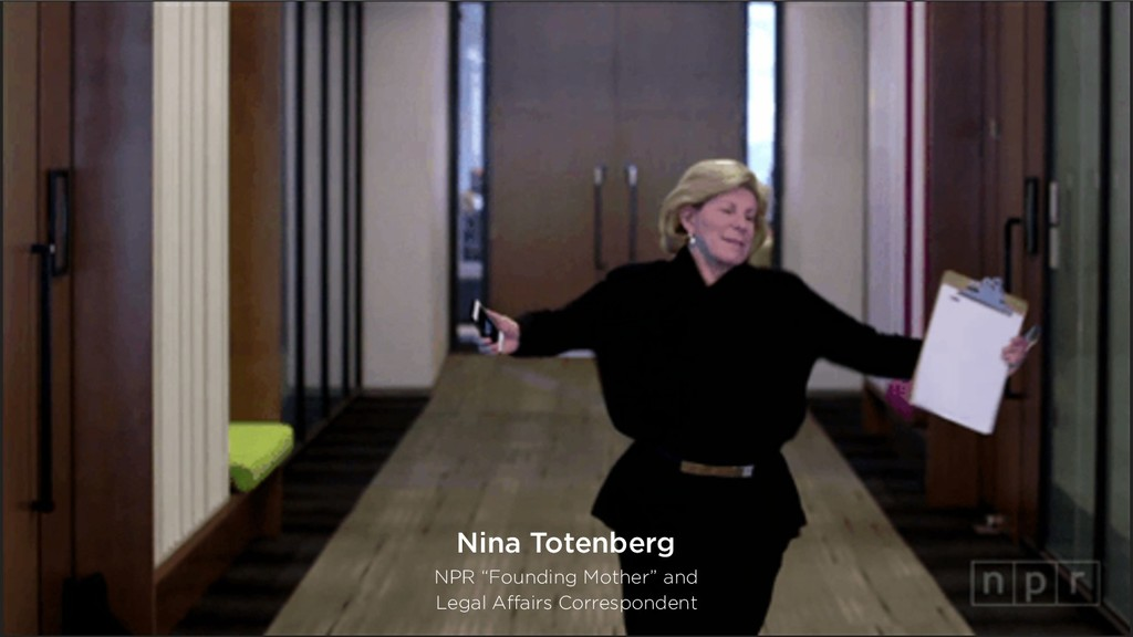 "@creativenewman #IAC19 Nina Totenberg NPR ""Fou..."
