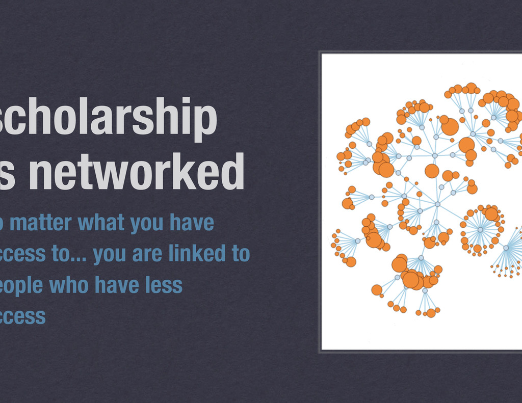 scholarship s networked