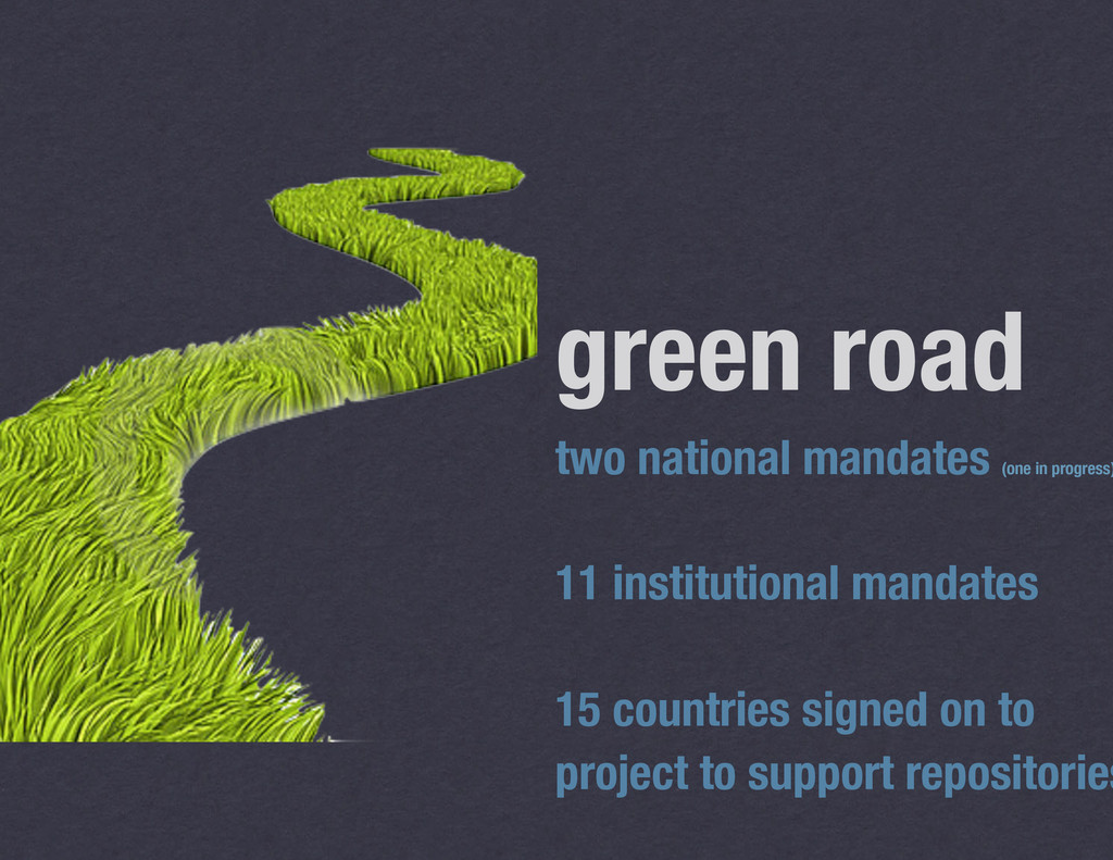 green road