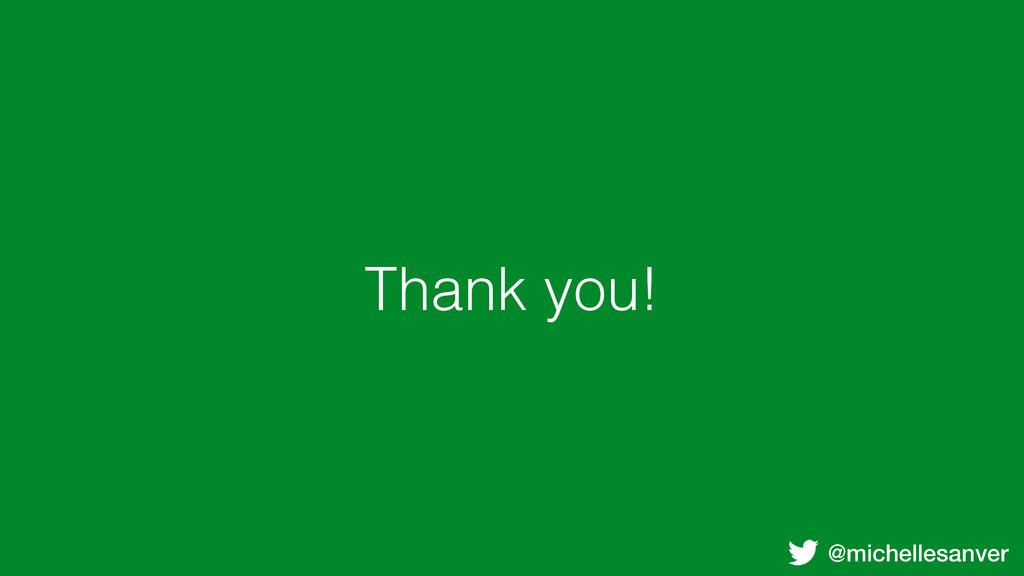 @michellesanver Thank you!