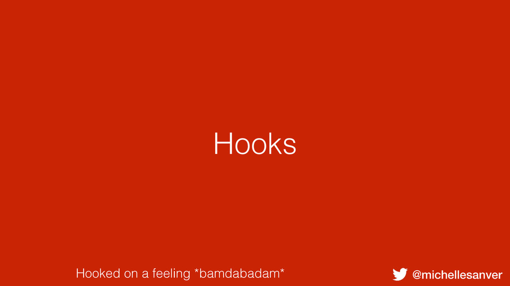 @michellesanver Hooked on a feeling *bamdabadam...