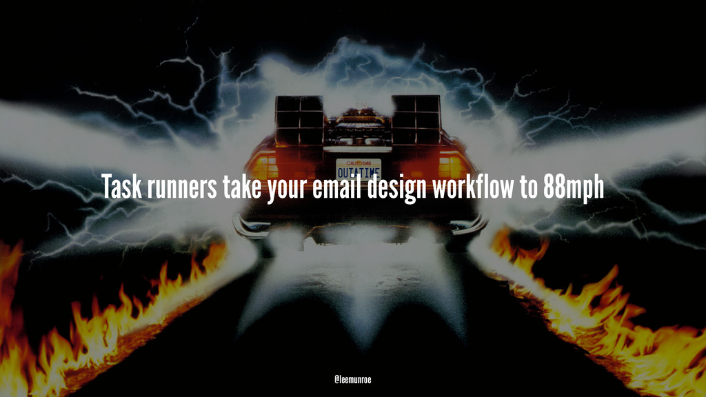 Task runners take your email design workflow to...