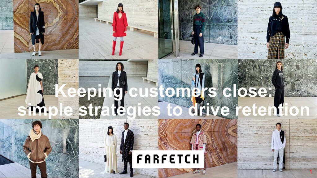 1 Keeping customers close: simple strategies to...