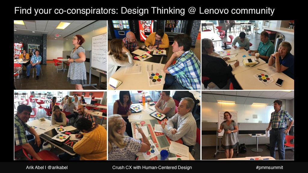 Find your co-conspirators: Design Thinking @ Le...