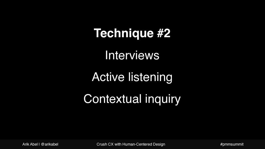 A more beautiful question Technique #2 Intervie...
