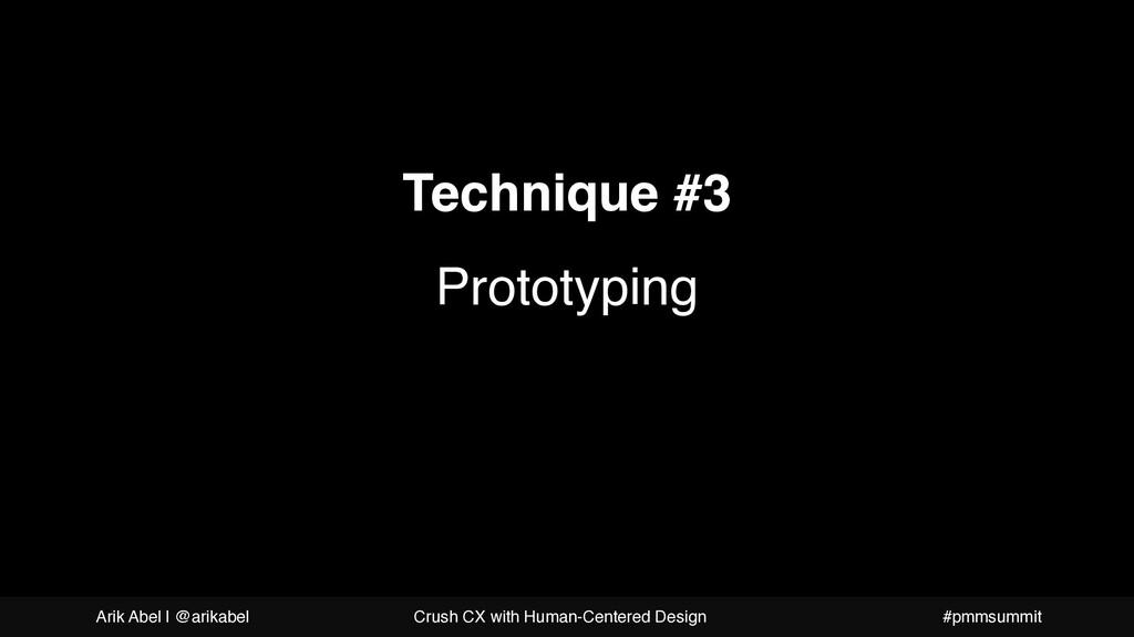 A more beautiful question Technique #3 Prototyp...
