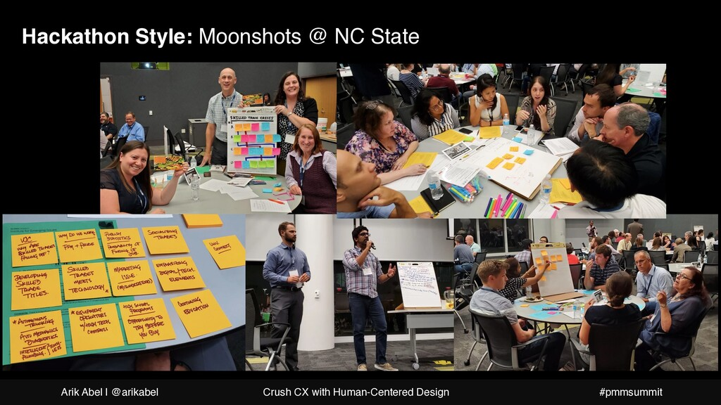 Hackathon Style: Moonshots @ NC State Arik Abel...