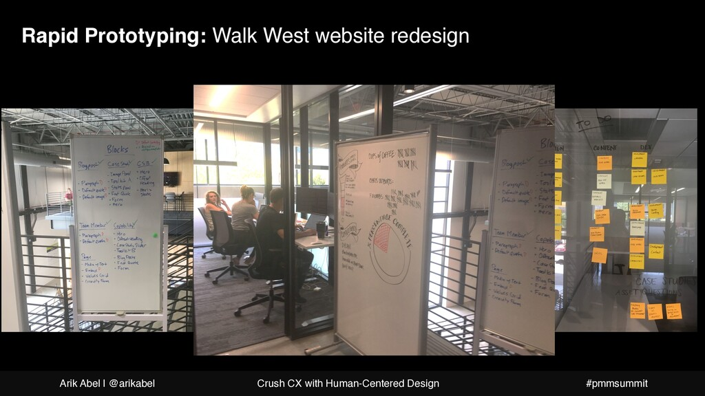 Rapid Prototyping: Walk West website redesign A...