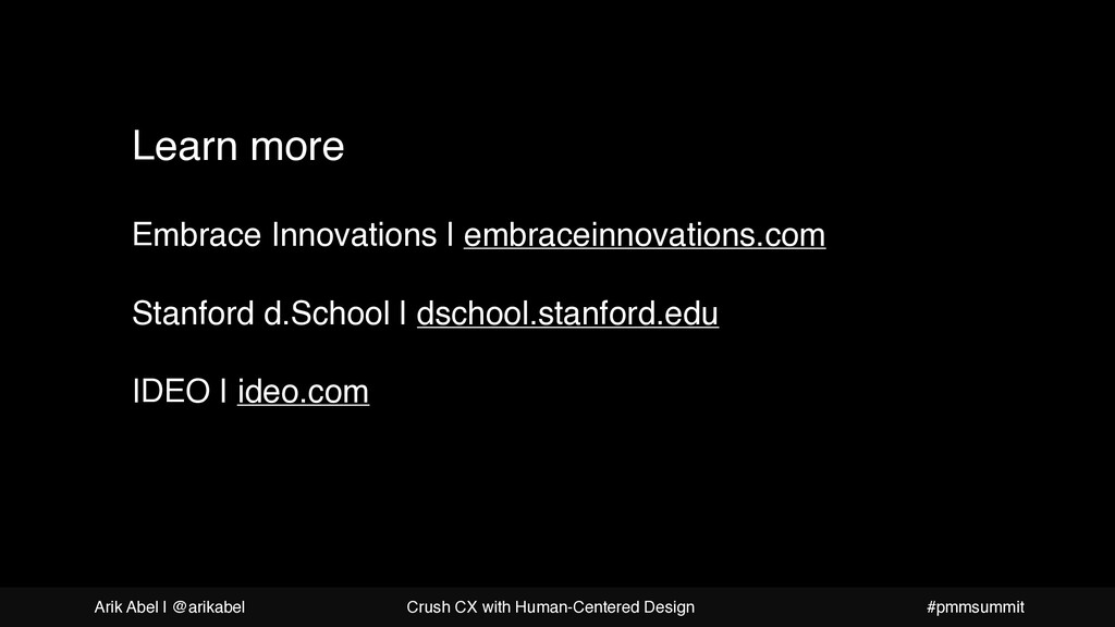Takeaways from this presentation Learn more Emb...