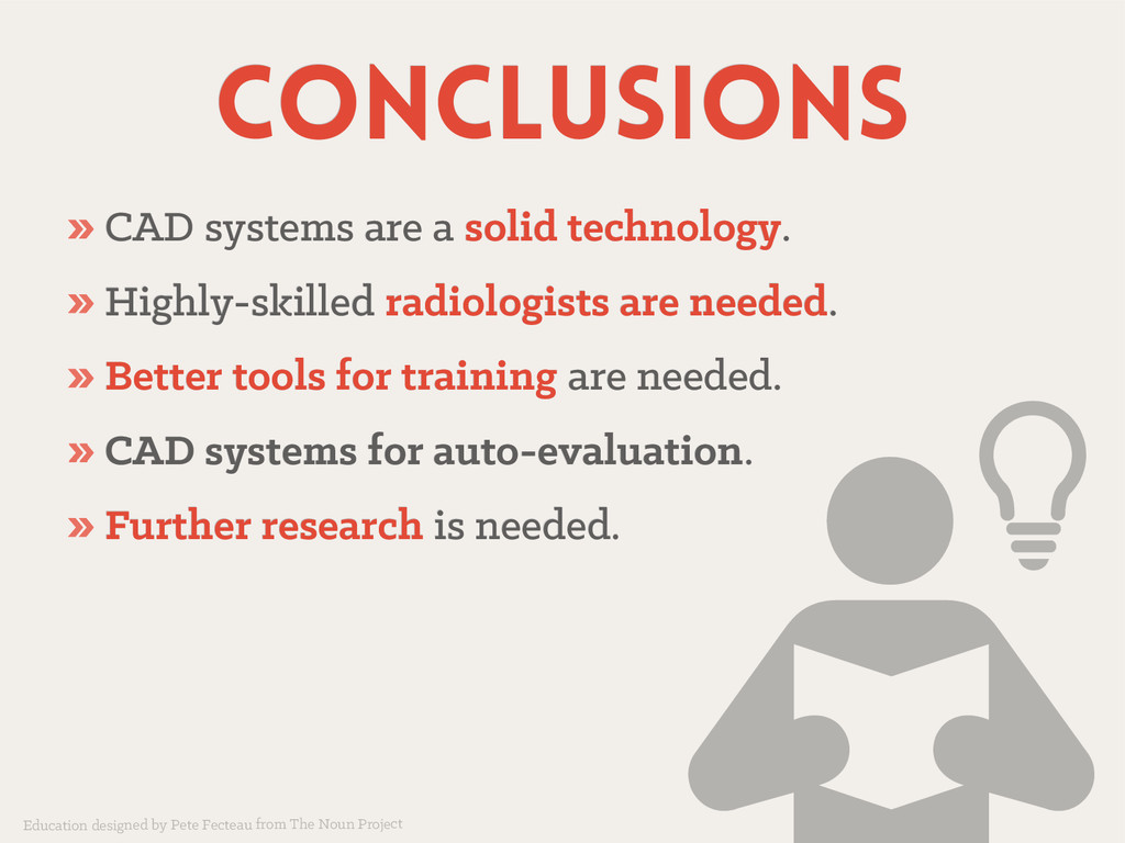 conclusions conclusions » CAD systems are a CAD...