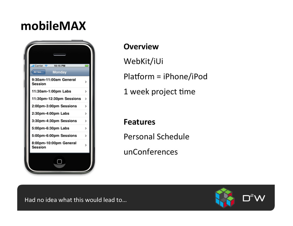 mobileMAX	