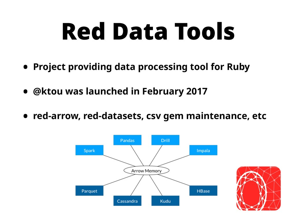 Red Data Tools • Project providing data process...