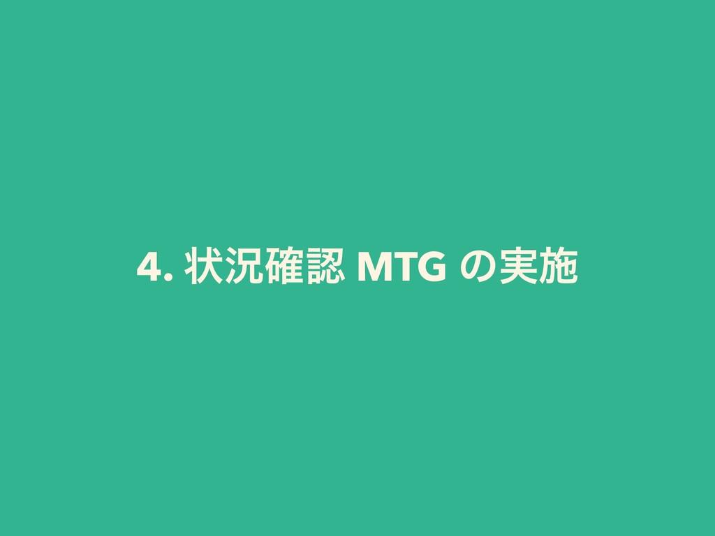 4. ঢ়گ֬ MTG ͷ࣮ࢪ