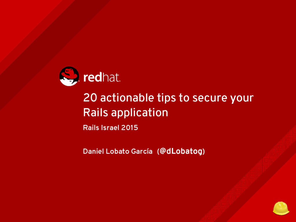 20 actionable tips to secure your Rails applica...