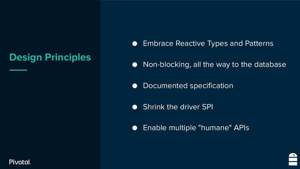 Design Principles ● Embrace Reactive Types and ...
