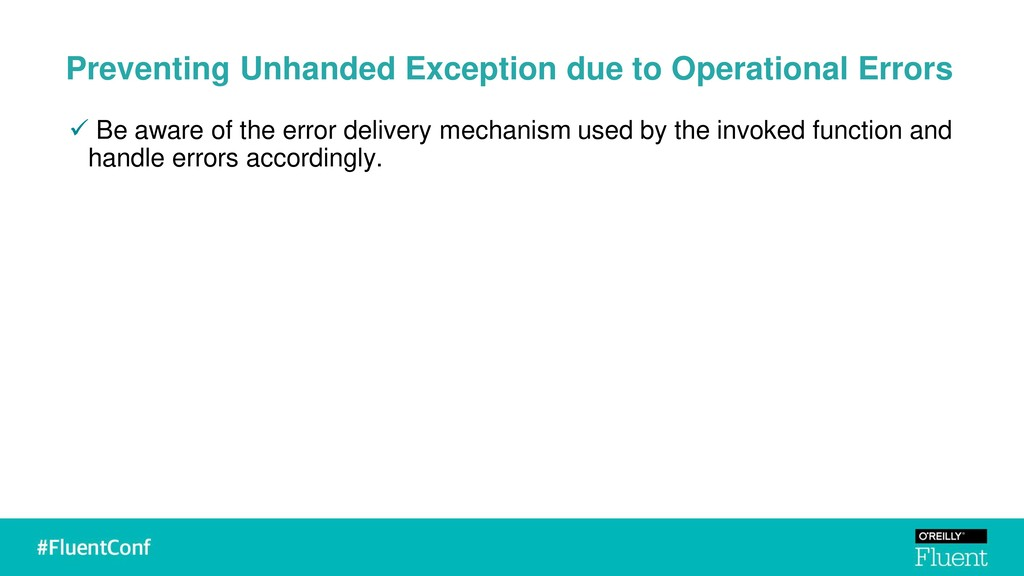 Preventing Unhanded Exception due to Operationa...